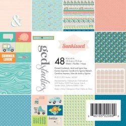 Набір картону Sunkissed Heidi Sonboul, 15х15 см, GCD Studios, 2069