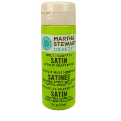 Multi-Surface Satin Acrylic Craft Paint – Granny Smith, 32007