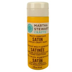 Multi-Surface Satin Acrylic Craft Paint – Pollen, 32062