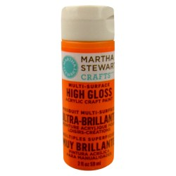 Multi-Surface High Gloss Acrylic Craft Paint – Marmalade, 32098