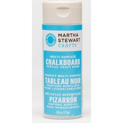 Фарба Multi-Surface Chalkboard Paint Acrylic Craft Paint – Blue, Martha Stewart Crafts™, 32216