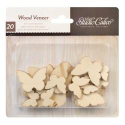 Дерев'яні фігурки Classic Calico v.2 – Butterflies, Studio Calico, 331050