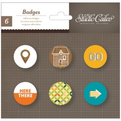 Прикраси Badges – Here & There, Studio Calico, 331313