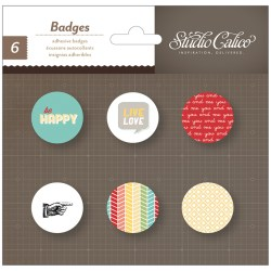 Прикраси Badges – Snippets, Studio Calico, 331356