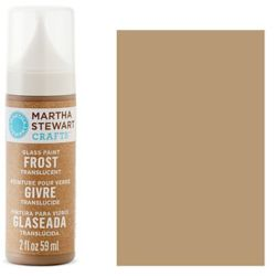 Фарба Frost Translucent Glass Paint – Root Beer Float, Martha Stewart Crafts™, 33196