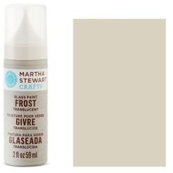 Фарба Frost Translucent Glass Paint – Wet Cement, Martha Stewart Crafts™, 33198