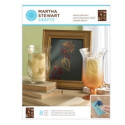 Трафарет Leaves Glass Silkscreen, Martha Stewart Crafts™,  33235
