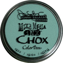 Крейдова штемпельна подушечка Mix'd Media Inx Chox, Sage, ClearSnap, 37505