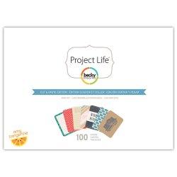 Міні набір Cut & Paste, Project Life, American Crafts, 380183