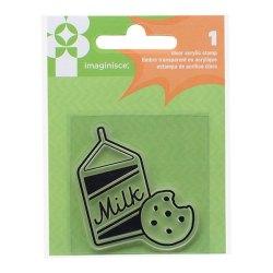 Штамп акриловий Family Fun – Milk & Cookies, Imaginisce, 400668