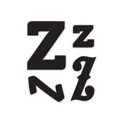 Штампи, літера Z, WeR Memory Keepers, 41331-8