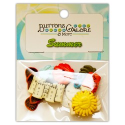 Ґудзики Beach Bum, Buttons Galore, 4245