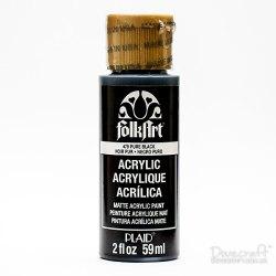Фарба акрилова Pure Black, FolkArt , 59 мл, K479