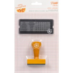 Штамп Amy Tangerine Yes Please Calendar Stamp Set, 59174