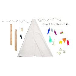 Набір для побудови Вігваму для дітей, світлий, WeR Memory Keepers, 660900