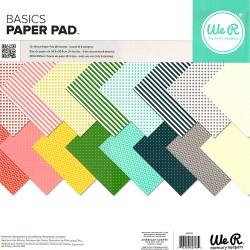 Набір паперу Basics, 30х30 см, WeR Memory Keepers, 662798