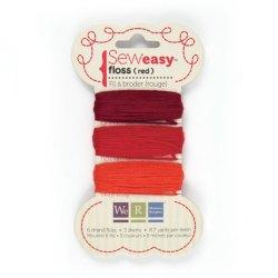 Нитки SewEasy Floss – Reds, 71062-2