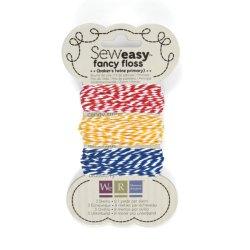 Шнурок SewEasy Fancy Floss Bakers Twine – Primary, 71158-2