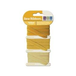 Набір стрічок SewRibbon – Ribbon Set – Yellow, 71231-2
