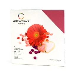Набір картону Valentine, American Crafts, 30х30 см, 71258