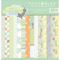 Набір паперу About a Little Boy, 15х15см, Photoplay, ALB2479