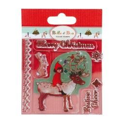 Штампи акрилові Reindeer, Dovecraft, BBSTP001X15