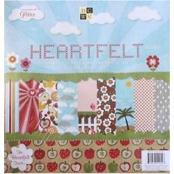 Набір паперу Heartfelt, 30х30 см, DCWV, CP-015-00223