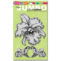 Штамп гумовий Jumbo Orchid, Stampendous, CRS5032