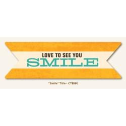 Картка для журналінгу Smile, My Mind's Eye, CTB161