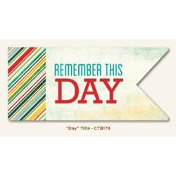 Картка для журналінгу Day, My Mind's Eye, CTB178