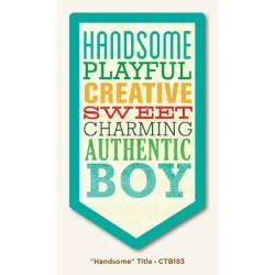 Картка для журналінгу Handsome, My Mind's Eye, CTB183