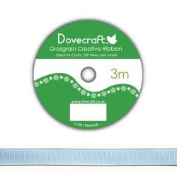 Рулон стрічки Dovecraft Christmas Ribbon, репсова, 3м, DCCR012