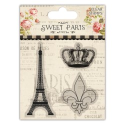 Штампи акрилові Sweet Paris – Eiffel Tower, Dovecraft, DCCS044
