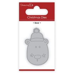 Ножі Christmas Dies – Bear, Dovecraft, DCDIE110X17