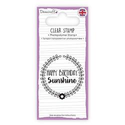 Штамп Sentiment Stamp – Happy Birthday, Dovecraft, DCSTP092