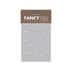 Набір ножів Snowflake Confetti Fancy Die, Hero Arts, DI409