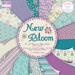 Набір паперу New Bloom, 20×20 см, First Edition, FEPAD067