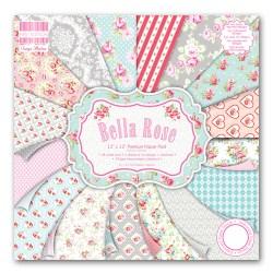 Набір паперу Bella Rose, 30×30 см, First Edition, FEPAD081