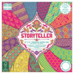 Набір паперу Storyteller, 20×20 см, First Edition, FEPAD138