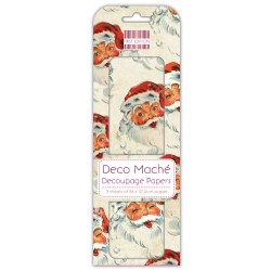 Папір для декупажу Deco Maché – Santa, First Edition, FEXDEC010