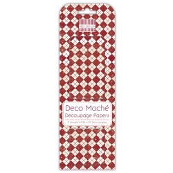 Папір для декупажу Deco Maché – Pringle, First Edition, FEXDEC013