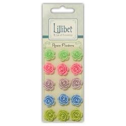 Набір квітів із пластику Resin Flowers, Lillibet, Hallmark Cards, HMRF001