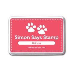 Чорнило для штампування Hot Lips, Simon Says Stamp, INK033