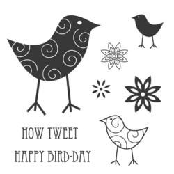 Штампи How Tweet, Jillibean Soup, JBC7702