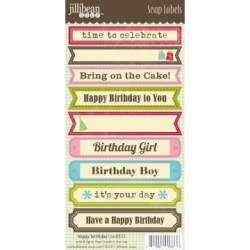 Лейби Birthday Soup Labels, Jillibean Soup, JBE8833