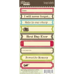 Лейби Journaling Soup Labels, Jillibean Soup, JBE8835