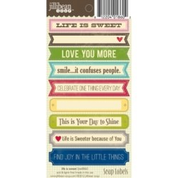 Лейби Life is Sweet Soup Labels, Jillibean Soup, JBE8860