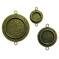 Металеві форми (обрамлення) Circles One, Media Mixáge™, Spellbinders, MB2-001