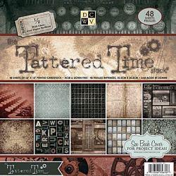 Набір паперу Tattered Time, 30х30 см, DCWV, PS-005-00157