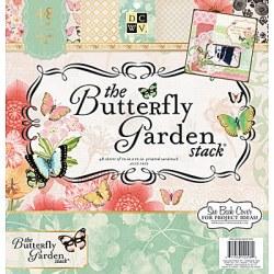 Набір паперу Butterfly Garden, 30х30 см, DCWV, PS-005-00270